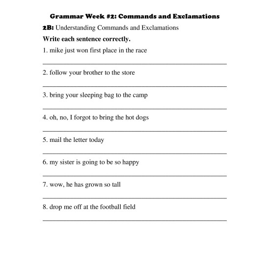 3rd Grade: Month 1 Curriculum